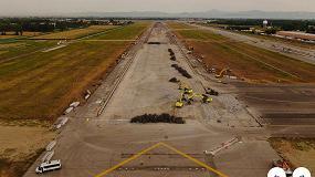 Foto de Más de 100 máquinas de Case llevan a cabo las obras de mejora de la pista del Aeropuerto de Milán-Linate