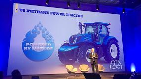 Foto de New Holland inicia la comercialización del tractor impulsado por metano