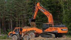 Foto de Doosan presenta su nueva excavadora DX300LC-7 de Fase V
