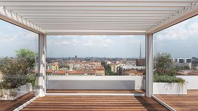 Foto de Kedry Prime de KE en la renovación de un ático en CityLife de Milán