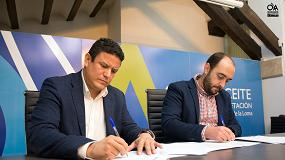 Foto de Pieralisi renueva su compromiso con el Centro de Interpretación 'Olivar y Aceite'
