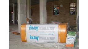 Fotografia de Nou sistema Knauf Insulation-Gecol d'aïllament termoacústic