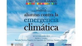 Foto de IBSTT participa como ponente en el 'III Foro Cátedra Hidralia+UGR. Alianzas contra la Emergencia Climática'