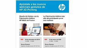 Foto de HP 3D Printing organiza dos nuevos webinars gratuitos