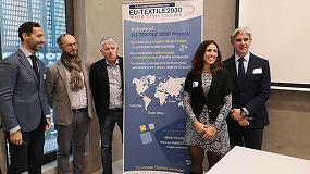 Foto de EU-Textile2030 y TEX4IM firman un acuerdo de colaboración para fortalecer la cooperación entre los clústeres textiles de Europa