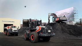 Foto de Doosan Infracore muestra las soluciones de construcción automatizadas y no tripuladas