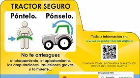 Foto de COAG lanza una campaña para reducir riesgos en el uso de vehículos agrícolas