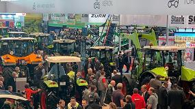 Foto de Novedades de Claas en sus tractores con orugas