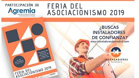 Foto de Agremia participará en la Feria del Asociacionismo 2019 de Madrid