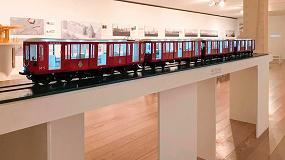 Foto de La impresión 3D de Aitiip recrea un vagón centenario de Metro Madrid