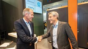Foto de HP y Rösler colaborarán en el posprocesado industrial automatizado de componentes Multi Jet Fusion