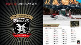 Foto de El calendario de Antonio Carraro conmemora los 110 años de la fábrica de Campodarsego