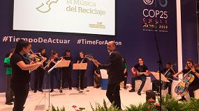 Foto de La Orquesta de la Música del Reciclaje de Ecoembes inaugura la 'Award Ceremony Global Youth Video Competition'