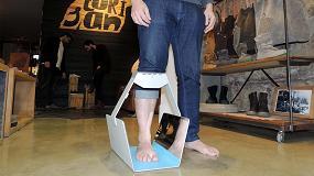 Foto de IBV lleva la tecnología de escaneado del pie en 3D a las tiendas