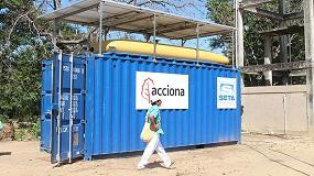 Foto de Acciona, premiada por el proyecto 'Agua potable para los Wiwa', desarrollado en Colombia