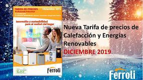 Foto de Ferroli lanza sus nuevas tarifas de precios de climatización y de calefacción y energías renovables