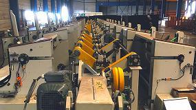 Foto de CMS permite visitar una línea de inspección por ultrasonidos y corrientes inducidas en sus instalaciones