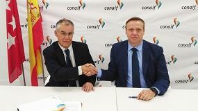 Foto de Conaif firma sendos convenios de colaboración con Afogasca y Agremia de cara a una futura integración