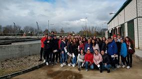 Foto de Acciona organiza una visita a la EDAR de Moraleja en Cáceres