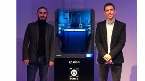Foto de BCN3D presenta en un acto en Barcelona su nueva impresora Epsilon