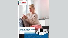 Foto de Nueva tarifa de precios Bosch para agua caliente, calefacción y climatización
