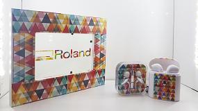 Foto de Roland DG lleva a Promogift su tecnología digital