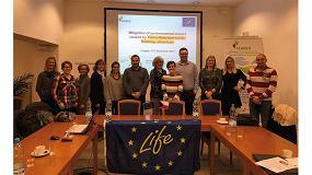 Foto de Life-Flarex se reúne en Praga para evaluar los retardantes a la llama más seguros para la industria textil