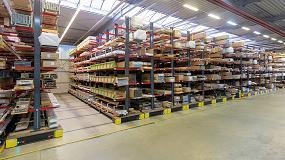 Foto de RBB Aluminium: máximo aprovechamiento del espacio mediante un efectivo sistema de almacenamiento