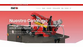 Foto de FAT presenta su nueva página web dirigida a profesionales del sector de la metalurgia