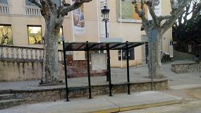 Foto de Caldes D'Estrac instala marquesinas de autobús Conviviale de Martín Mena