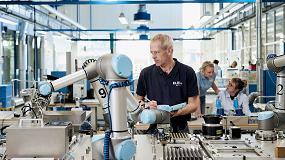 Foto de Universal Robots lanza servicios financieros de renting en colaboración con DLL