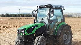 Foto de Deutz-Fahr 5115 DF TTV: un tractor único en el mundo