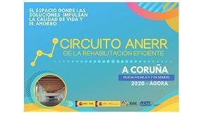 Foto de El Circuito de la Rehabilitación Eficiente de Anerr en A Coruña se celebrará finalmente los días 6 y 7 de marzo
