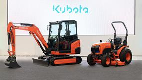 Foto de Kubota desvela sus prototipos de miniexcavadoras y tractores eléctricos