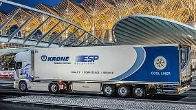 Foto de ESP Solutions adquiere 60 remolques frigo de Krone