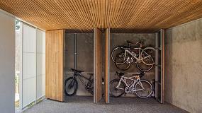 Foto de Gabarró presenta en Fimma-Maderalia 2020 Luna Triple Thermowood de Lunawood para crear diseños residenciales y comerciales
