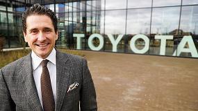 Foto de Ernesto Domínguez, nuevo director general y CEO en Toyota Material Handling Europe