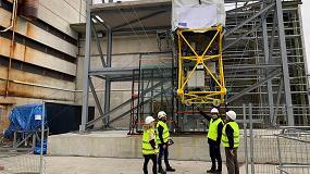 Foto de Tecnalia lidera el desarrollo del primer robot de cables para el montaje y mantenimiento de fachadas