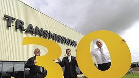 Fotografia de La fàbrica de motors JCB Transmissions celebra 30 anys