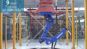 Foto de Granallado angular automatizado: innovación para una máxima competitividad e información del proceso