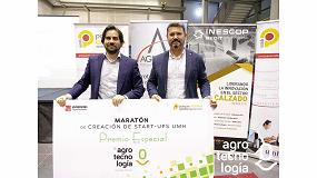 Foto de Grupo Agrotecnología premia con asesoramiento al proyecto Hortus Vertical en la 9ª Maratón UMH