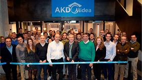 Foto de Frigicoll, distribuidor oficial de Midea, presenta el centro de formación AKD Midea
