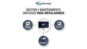 Foto de Security Control Center (SCC), unos de los innovadores softwares de By Demes Group que presentará en Sicur 2020
