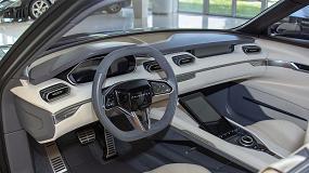 Foto de Italdesign imprime en 3D piezas con efecto de mármol para el interior del coche conceptual DaVinci