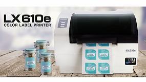 Foto de DTM Print lanza la primera impresora de etiquetas de inyección de tinta de escritorio del mundo con troquelado integrado