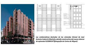 Foto de Las viviendas ´Girasol´ del arquitecto José Antonio Coderch, rehabilitadas con el nuevo tejido cerámico Flexbrick