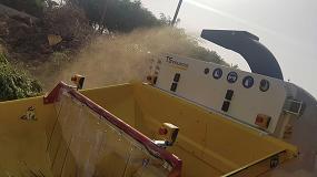 Foto de Nueva trituradora con sistema de triturado mixto en Las Palmas de Gran Canaria