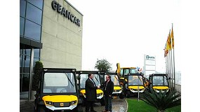 Fotografia de Geancar subministra cinc vehicles dièsel a Grup Vamasa