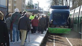 Foto de El tranvía de Vitoria llega hasta la Universidad