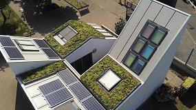 Foto de Isopan instala su sistema de cubierta verde Greenroof en VeluxLab